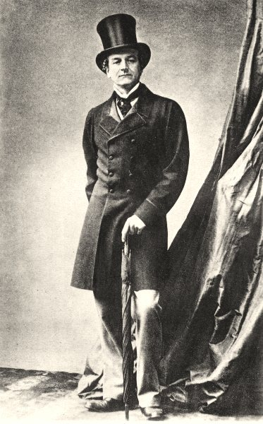 Associate Product PEERS. Portrait of Lord Grandville, c.1865 1935 old vintage print picture