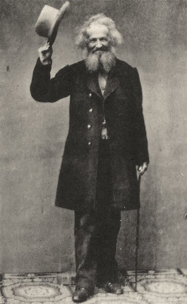 Associate Product ARTISTS. Portrait of painter Joseph Hornung, c.1865 1935 old vintage print