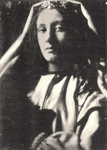 Associate Product PORTRAITS. Portrait of an unknown, 1863 1935 old vintage print picture