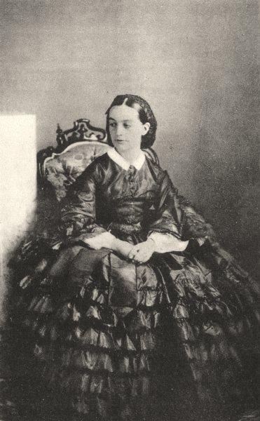 Associate Product PORTRAITS. Portrait of Madame Charpine, 1861 1935 old vintage print picture