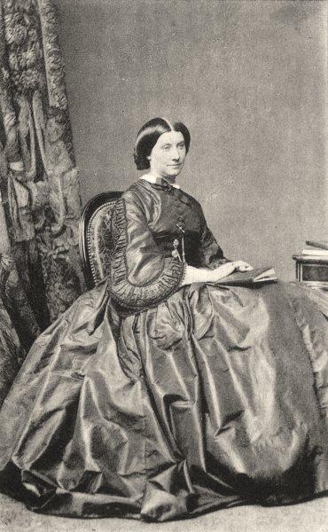 Associate Product PORTRAITS. Portrait of Countess of Menon, c.1865 1935 old vintage print