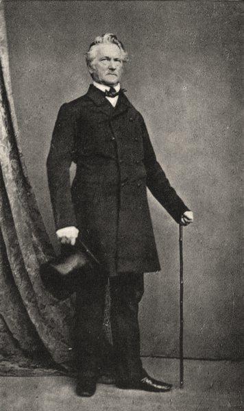 BULGARIA. Portrait of Karl- Friedrich Montana Sintenis, 1863 1935 old print