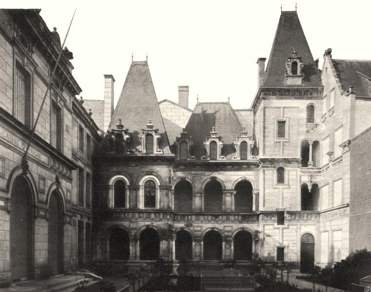 Associate Product CHARENTE-MARITIME. La Rochelle- Maison Henri II 1904 old antique print picture