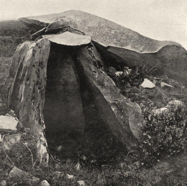 Associate Product CORRÈZE. Aubazine- Cromlech Du Puy de Pauliac 1904 old antique print picture