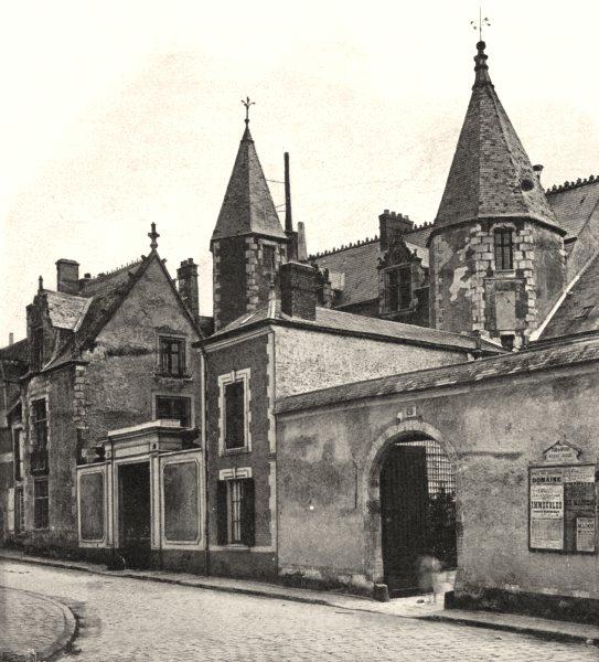 Associate Product ESSONNE. Manior de Saint-Yon, à Étampes 1902 old antique vintage print picture