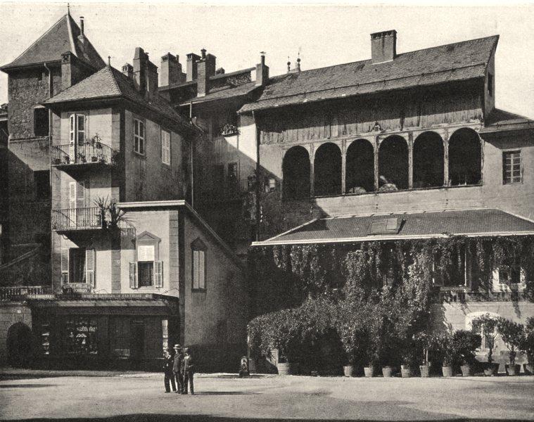 Associate Product SAVOIE. Vieilles maisons de la place de I'Hôtel-de-Ville, à Chambéry 1903