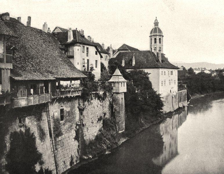 Associate Product SAVOIE. Pont-de-Beauvoisin 1903 old antique vintage print picture