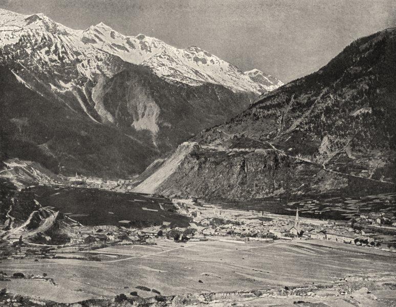 Associate Product SAVOIE. Modane (1, 074 mètres d'altitude)  1903 old antique print picture
