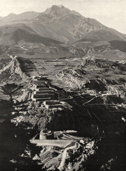 SAVOIE. L'Esseillon (1, 334 mètres d'altitude)  1903 old antique print picture