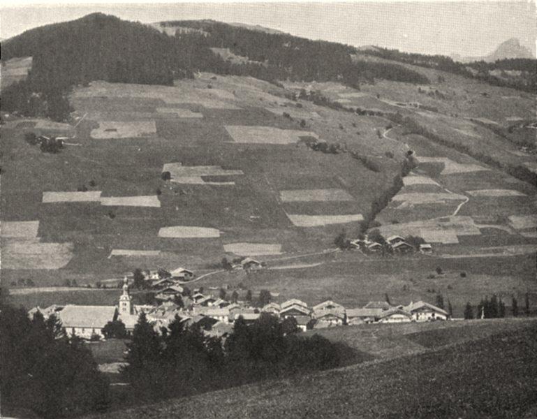 Associate Product HAUTE-SAVOIE. Mégève (1, 125 mètres d'altitude) et la Pointe Percée. SMALL. 1903