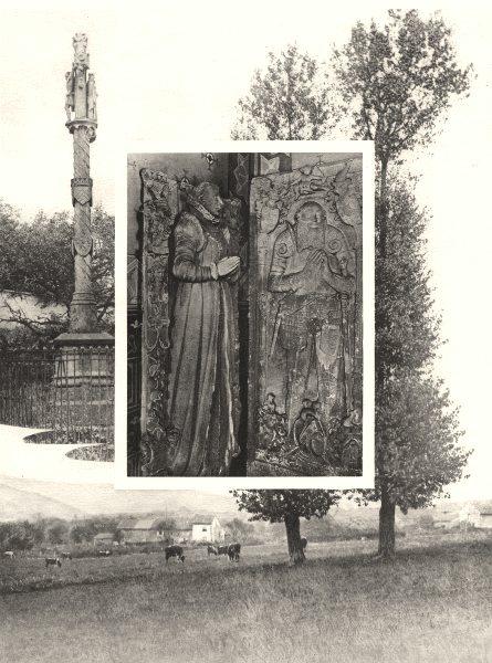 Associate Product MOSELLE. Hombourg- Kédange 1937 old vintage print picture