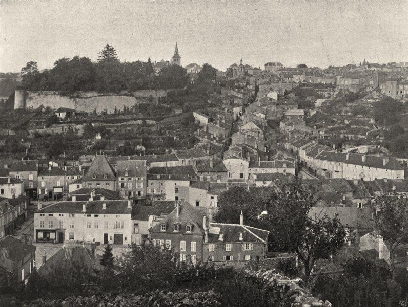 Associate Product MEURTHE-ET-MOSELLE. Briey- Vue générale 1906 old antique vintage print picture