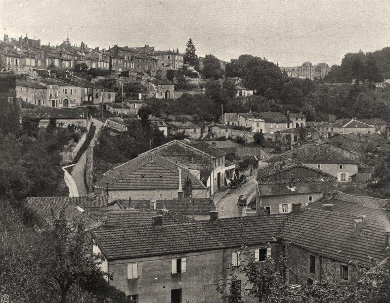 Associate Product MEUSE. Bar-le-duc- Vue générale 1906 old antique vintage print picture