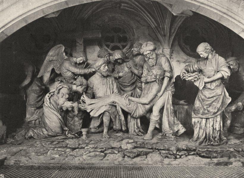 Associate Product MEUSE. Saint-Mihiel- Eglise Saint-Étienne. le Saint-Sépulcre 1906 old print
