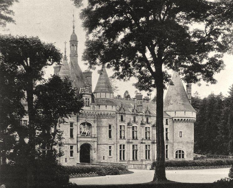 Associate Product EURE-ET-LOIR. Château d'Ecclimont 1903 old antique vintage print picture