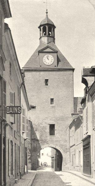 Associate Product LOIRET. Porte Vendômoise, à Beaugency 1903 old antique vintage print picture
