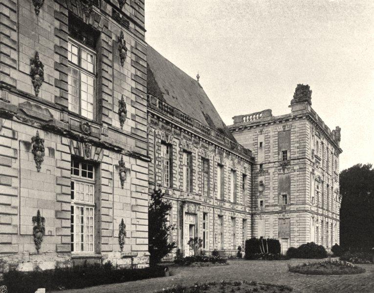Associate Product DEUX-SÈVRES. Château d'Oiron 1904 old antique vintage print picture
