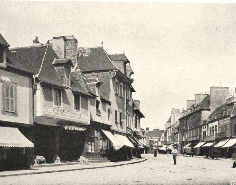 Associate Product VENDÉE. Les Sables-d'Olonne- La plage. SMALL. 1904 old antique print picture