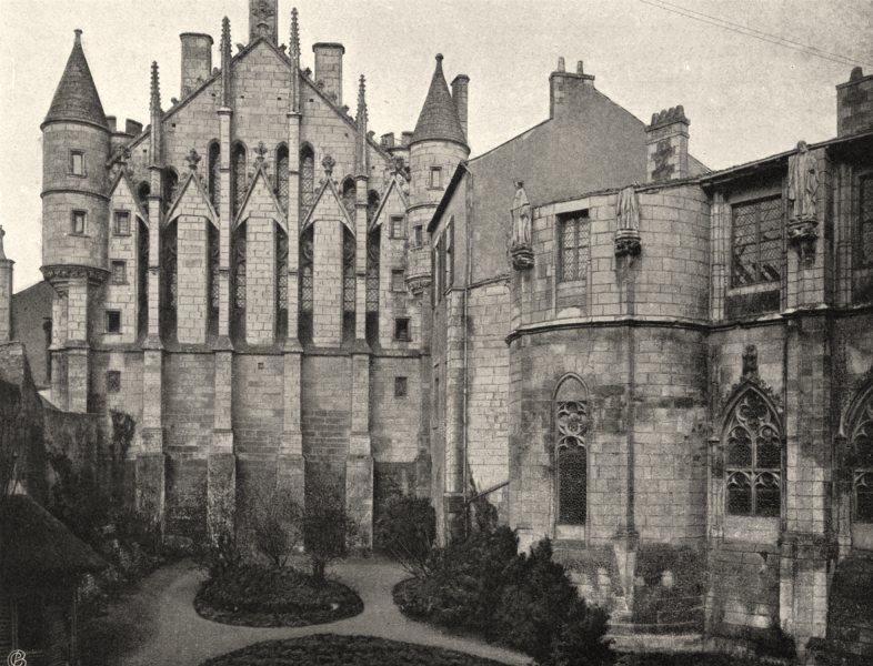 Associate Product VIENNE. Poitiers- Palais de justice 1904 old antique vintage print picture