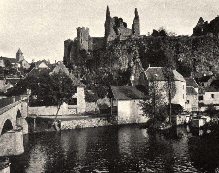 Associate Product VIENNE. Angles-sur-l'Anglin 1904 old antique vintage print picture