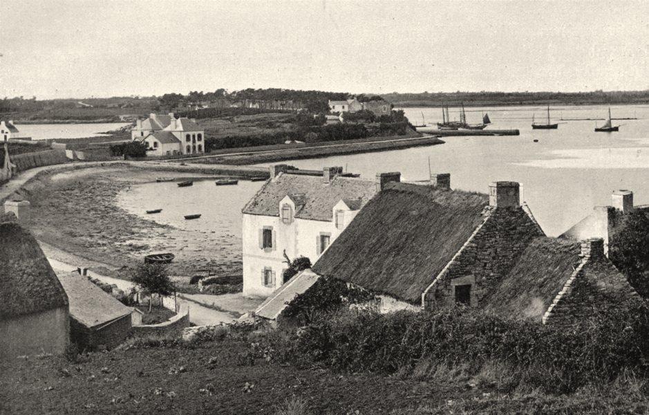Associate Product MORBIHAN. Le Morbihan 1903 old antique vintage print picture