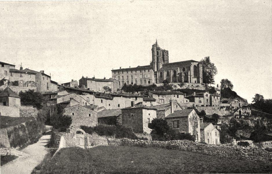 Associate Product LOIRE. Saint-Bonnet-le-Chàteau 1903 old antique vintage print picture