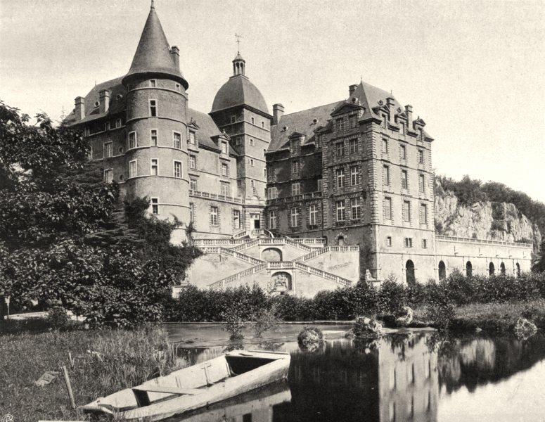 Associate Product ISÈRE. Château de Vizille 1904 old antique vintage print picture