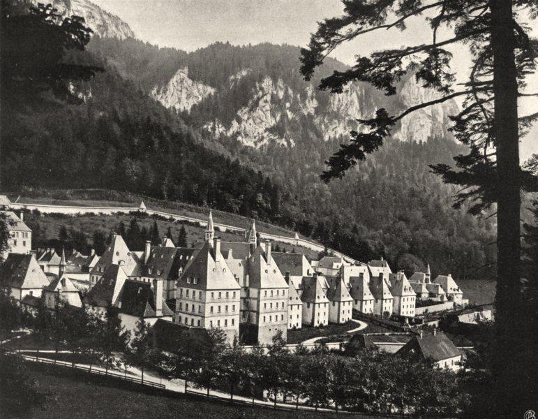 Associate Product ISÈRE. Couvent de la Grande- Chartreuse 1904 old antique vintage print picture