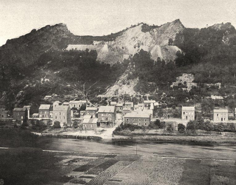 Associate Product ARDENNES. Château- Regnault et les Quatre- Fils- Aymon 1906 old antique print