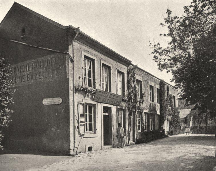 Associate Product ARDENNES. Bazilles- Maison des Dernières Cartouches 1906 old antique print