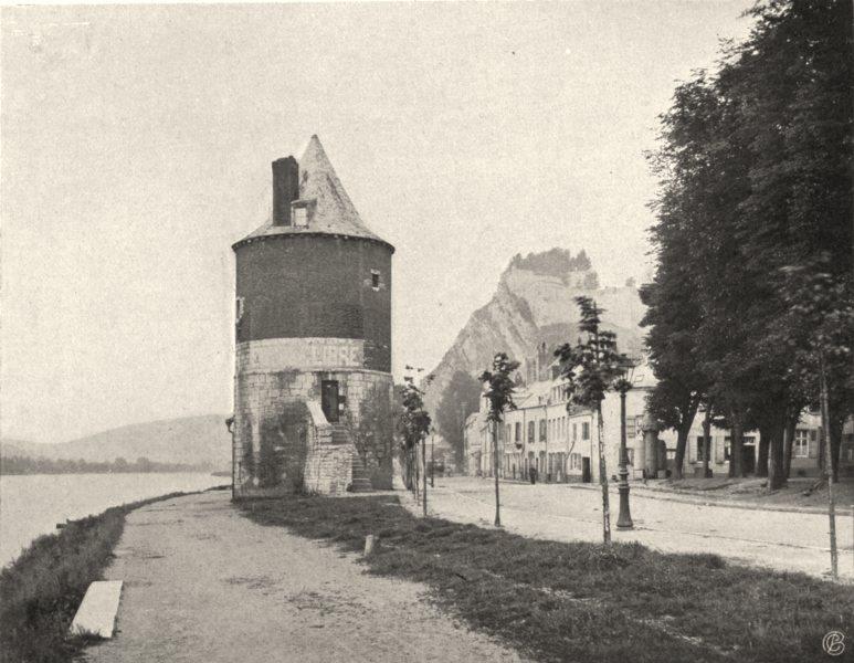 Associate Product ARDENNES. Givet- Vieille tour 1906 old antique vintage print picture