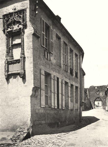 Associate Product MARNE. Vertus- Fenêtre Renaissance 1906 old antique vintage print picture