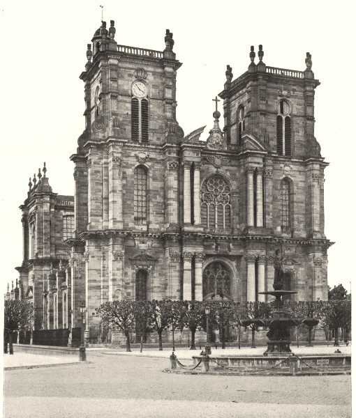 Associate Product MARNE. Vitry-le-François- Église 1906 old antique vintage print picture