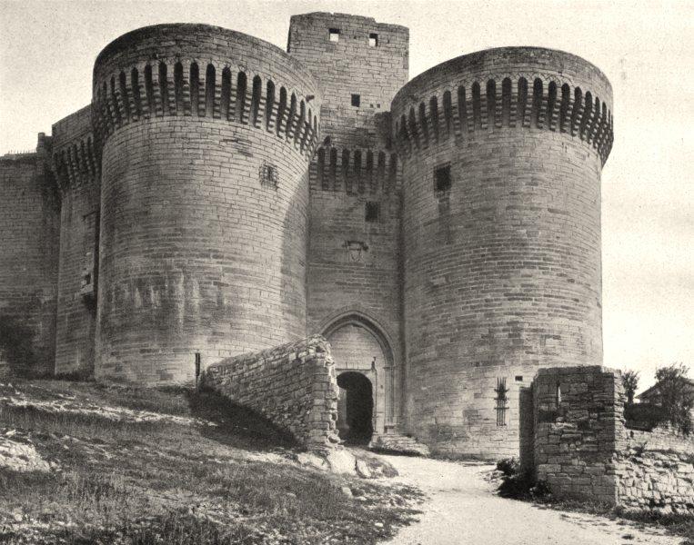 Associate Product GARD. Fort Saint-André, à Villeneuve- lès- Avignon 1902 old antique print