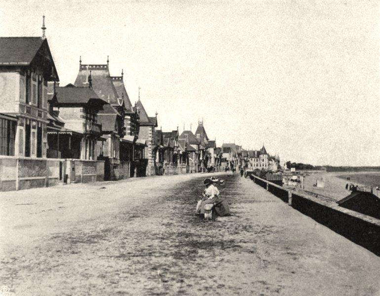 Associate Product LOIRE-ATLANTIQUE. La Baule. SMALL. 1903 old vintage print picture