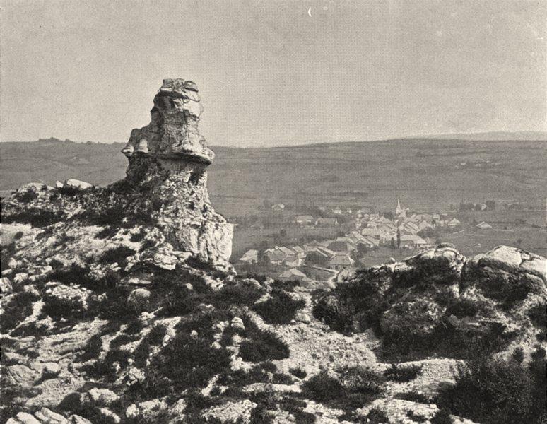 Associate Product JURA. La Commère de Sirod 1905 old antique vintage print picture