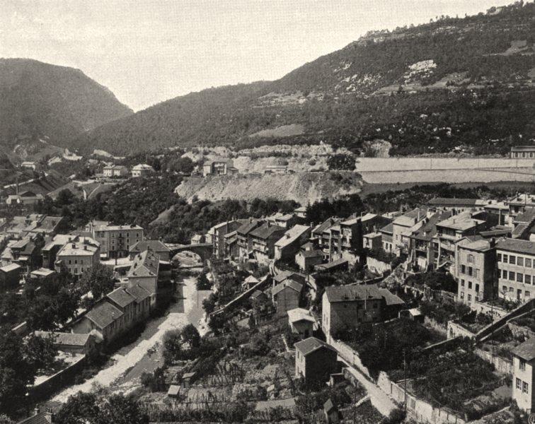 Associate Product JURA. Saint-Claude (1)  1905 old antique vintage print picture