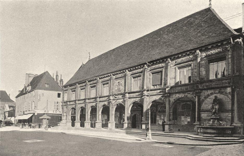 Associate Product HAUTE-SAÔNE. Gray- Hôtel de ville 1905 old antique vintage print picture