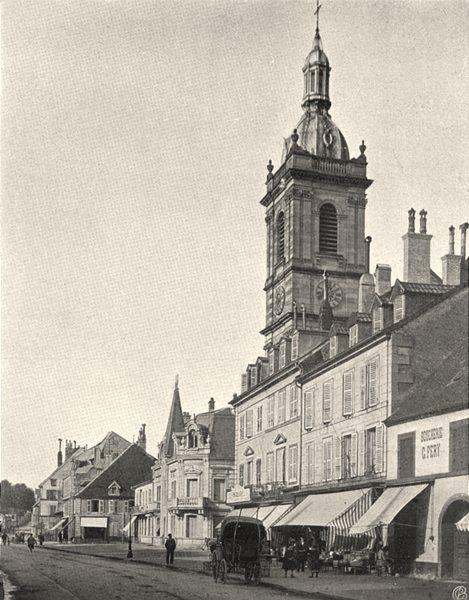 Associate Product HAUTE-SAONE. Lure- Grande- Rue 1905 old antique vintage print picture