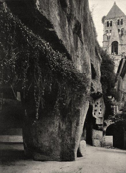 Associate Product DORDOGNE. Brantôme- Les grottes 1904 old antique vintage print picture