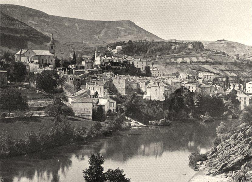 Associate Product AVEYRON. Creyssels-sur-le- Tarn 1903 old antique vintage print picture