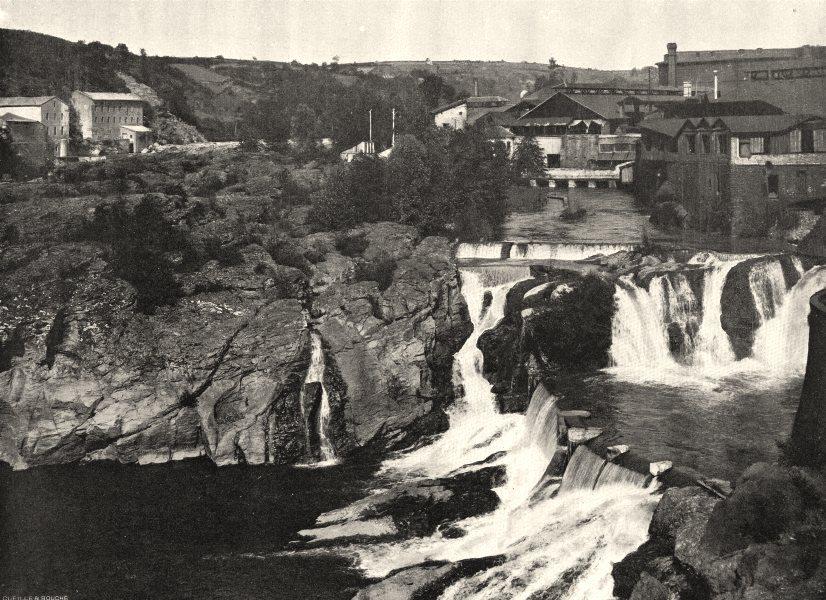 Associate Product TARN. Saint-Juéry- Le saut du Tarn 1903 old antique vintage print picture
