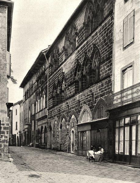 Associate Product TARN. Cordes- Hôtel de ville 1903 old antique vintage print picture