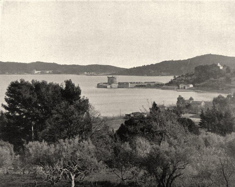 Associate Product VAR. Fort de I'Aiguillette 1903 old antique vintage print picture