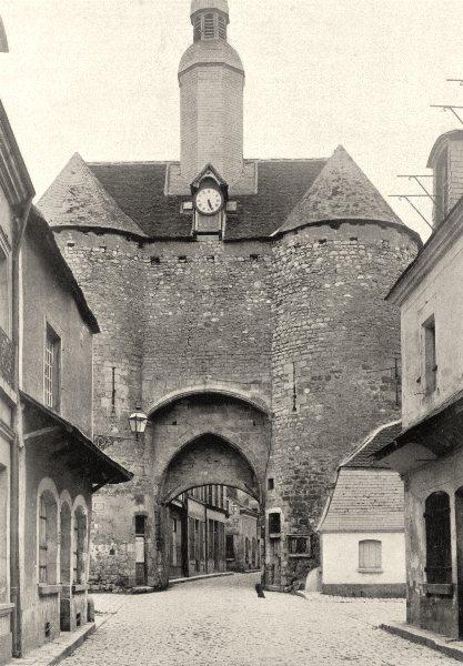 Associate Product CHER. Mehun-sur-Yèvre- Porte 1905 old antique vintage print picture