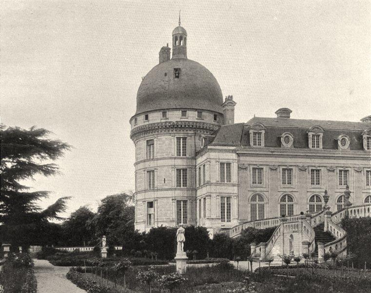 Associate Product INDRE. Valençay- Château 1905 old antique vintage print picture