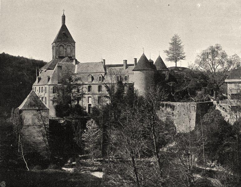 Associate Product INDRE. Bords de la Creuse- Gargilesse 1905 old antique vintage print picture