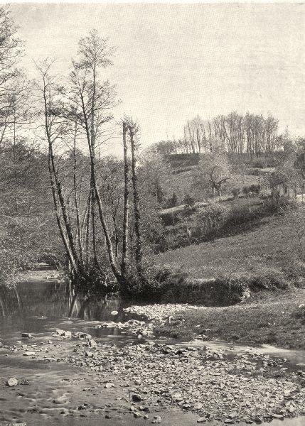 Associate Product INDRE. Le ruisseau de Gargilesse 1905 old antique vintage print picture