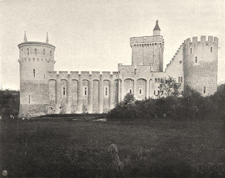 Associate Product INDRE. Château Guillaume du Poitou 1905 old antique vintage print picture