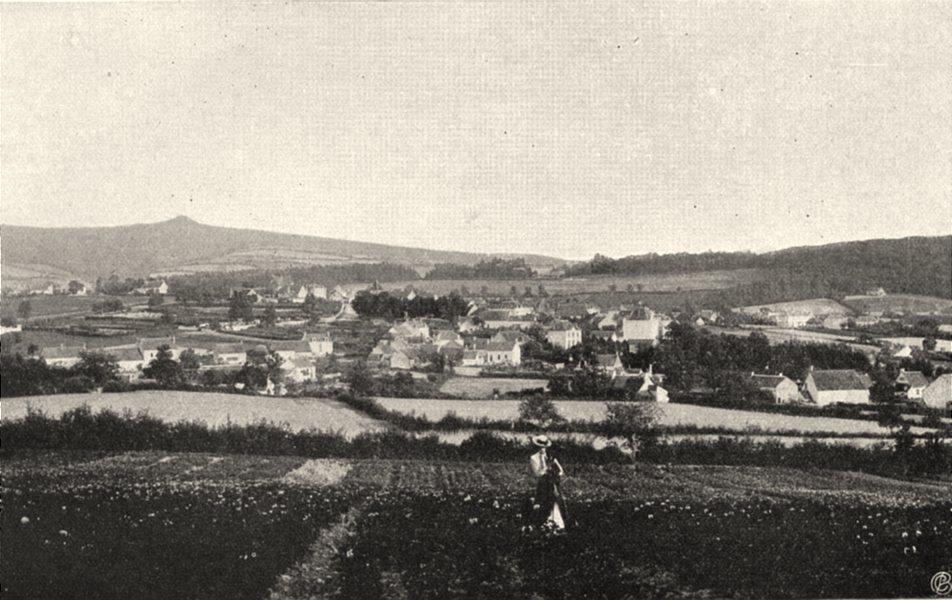 Associate Product NIÈVRE. Saint-Honoré-les-Bains 1905 old antique vintage print picture